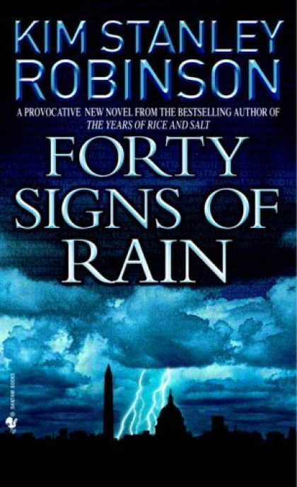 Bestselling Sci-Fi/ Fantasy (2006) - Forty Signs of Rain by Kim Stanley Robinson