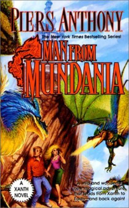Bestselling Sci-Fi/ Fantasy (2006) - Man From Mundania (Xanth) by Piers Anthony