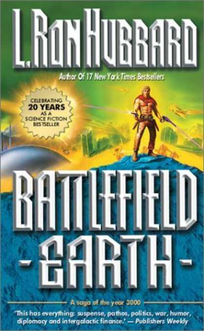 Bestselling Sci-Fi/ Fantasy (2006) - Battlefield Earth by L. Ron Hubbard