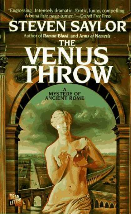 Bestselling Sci-Fi/ Fantasy (2006) - The Venus Throw: A Mystery of Ancient Rome (A Novel of Ancient Rome) by Steven S