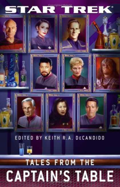 Bestselling Sci-Fi/ Fantasy (2006) - Tales From the Captain's Table (Star Trek: All)