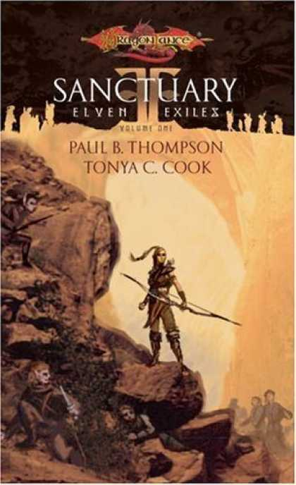 Bestselling Sci-Fi/ Fantasy (2006) - Sanctuary (Elven Exiles) by Paul B. Thompson