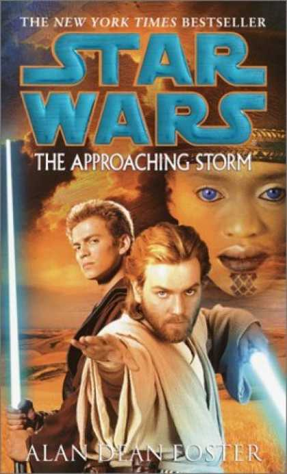 Bestselling Sci-Fi/ Fantasy (2006) - The Approaching Storm (Star Wars) by Alan Dean Foster