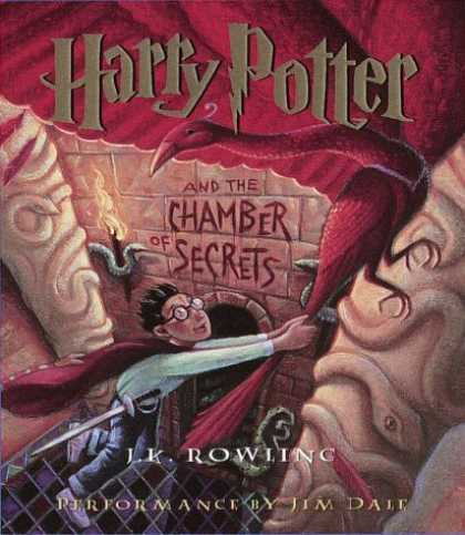 Bestselling Sci-Fi/ Fantasy (2006) - Harry Potter and the Chamber of Secrets (Book 2) by J.K. Rowling