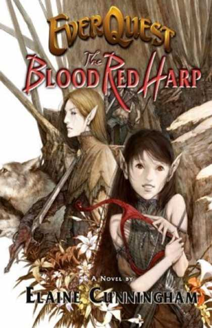 Bestselling Sci-Fi/ Fantasy (2006) - EverQuest: The Blood Red Harp by Elaine Cunningham