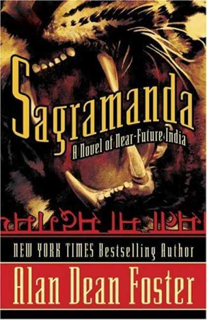 Bestselling Sci-Fi/ Fantasy (2006) - Sagramanda (A Novel of Near-Future India) by Alan Dean Foster