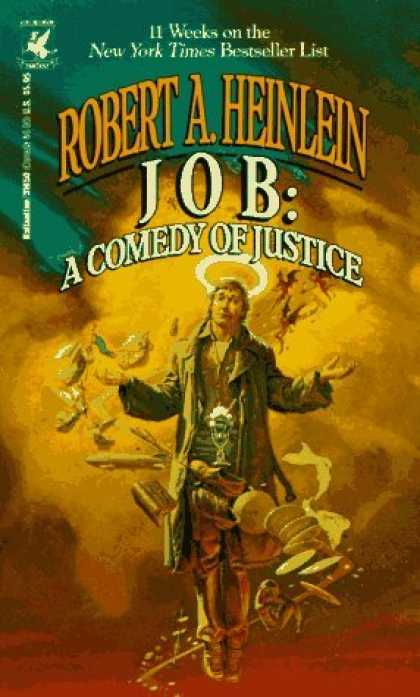 Bestselling Sci-Fi/ Fantasy (2006) - Job: A Comedy of Justice by Robert A. Heinlein