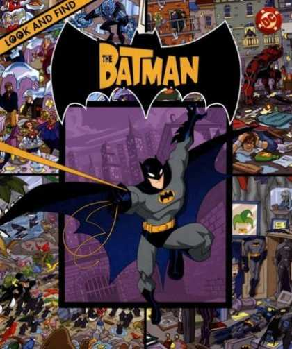 Bestselling Sci-Fi/ Fantasy (2006) - The Batman (Look and Find (Publications International)) by William Shears