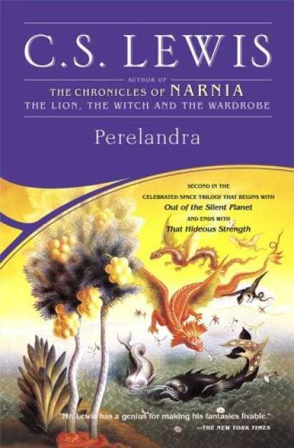 Bestselling Sci-Fi/ Fantasy (2006) - Perelandra (Space Trilogy, Book 2) by C.S. Lewis