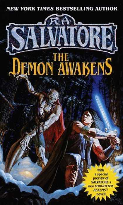 Bestselling Sci-Fi/ Fantasy (2006) - Demon Awakens (DemonWars) by R.A. Salvatore