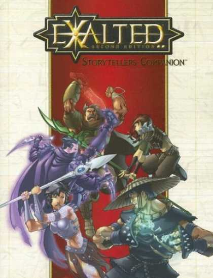 Bestselling Sci-Fi/ Fantasy (2006) - Exalted: Storytellers Companion (Exalted) by Alan Alexander
