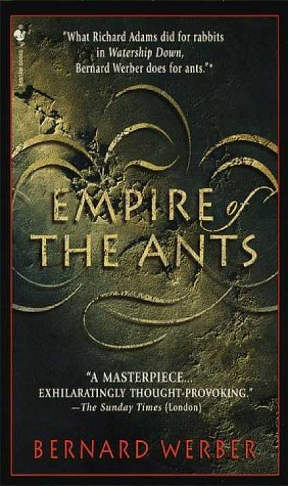 Bestselling Sci-Fi/ Fantasy (2006) - Empire of the Ants by Bernard Werber