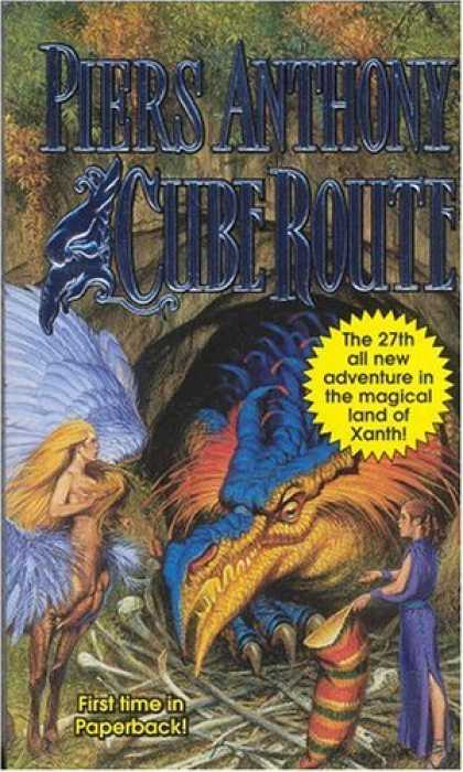 Bestselling Sci-Fi/ Fantasy (2006) - Cube Route (Xanth) by Piers Anthony