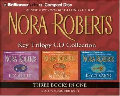 Bestselling Sci-Fi/ Fantasy (2006) - Nora Roberts Key Trilogy CD Collection: Key of Light, Key of Knowledge, Key of V