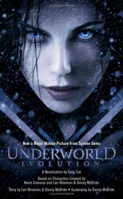 Bestselling Sci-Fi/ Fantasy (2006) - Evolution (Underworld) by Greg Cox