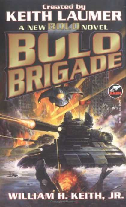 Bestselling Sci-Fi/ Fantasy (2006) - Bolo Brigade by Keith Laumer