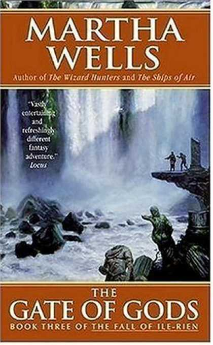 Bestselling Sci-Fi/ Fantasy (2006) - The Gate of Gods: Book Three of The Fall of Ile-Rien by Martha Wells