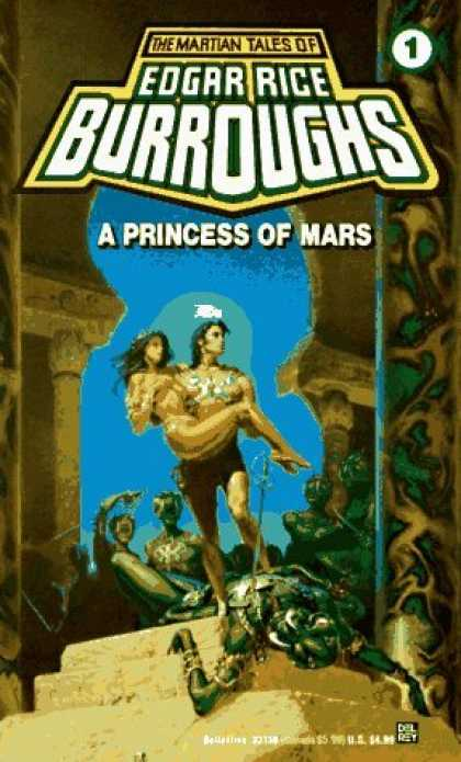 Bestselling Sci-Fi/ Fantasy (2006) - A Princess of Mars (Mars (del Rey Books Numbered)) by Edgar Rice Burroughs