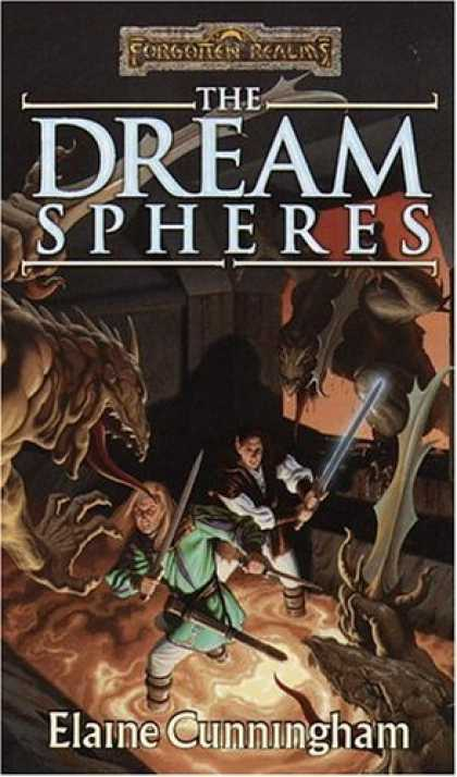 Bestselling Sci-Fi/ Fantasy (2006) - The Dream Spheres (Forgotten Realms: Songs and Swords, Book 5) by Elaine Cunning
