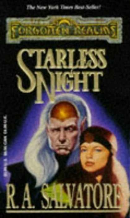 Bestselling Sci-Fi/ Fantasy (2006) - Starless Night (Forgotten Realms: Legacy of the Drow, Book 2) by R. A. Salvator