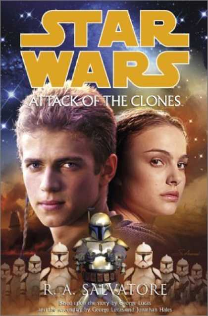 Bestselling Sci-Fi/ Fantasy (2006) - Star Wars, Episode II - Attack of the Clones by R.A. Salvatore