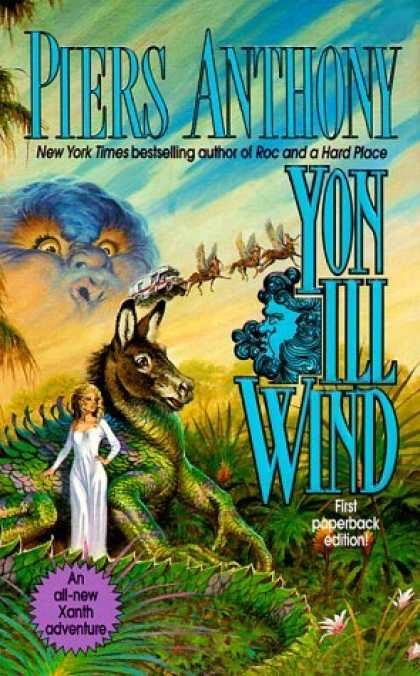Bestselling Sci-Fi/ Fantasy (2006) - Yon Ill Wind: A Xanth Novel (Xanth) by Piers Anthony