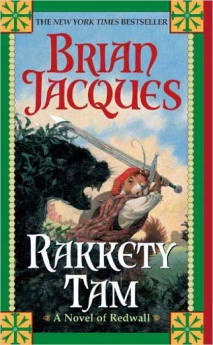 Bestselling Sci-Fi/ Fantasy (2006) - Rakkety Tam (Redwall) by Brian Jacques