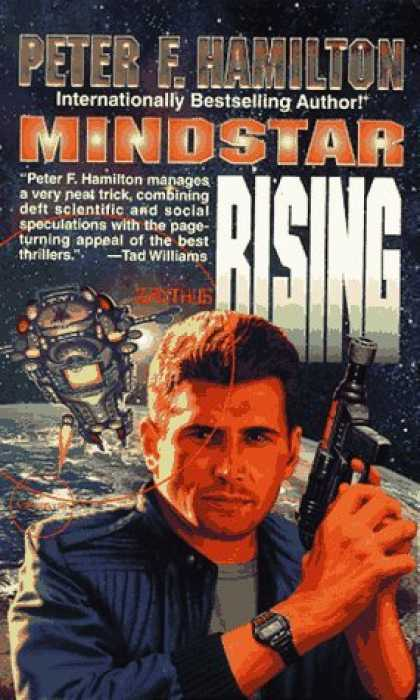 Bestselling Sci-Fi/ Fantasy (2006) - Mindstar Rising by Peter F. Hamilton