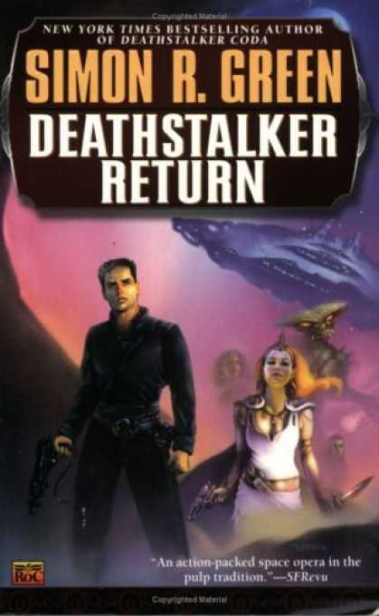 Bestselling Sci-Fi/ Fantasy (2006) - Deathstalker Return (Roc Science Fiction) by Simon R. Green