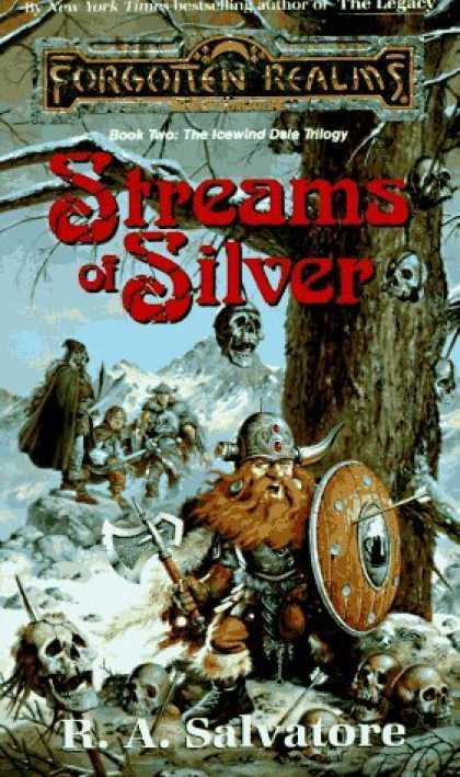 Bestselling Sci-Fi/ Fantasy (2006) - Streams of Silver (Forgotten Realms: The Icewind Dale Trilogy, Book 2) by R. A.