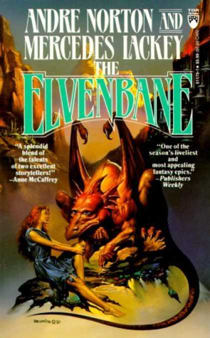 Bestselling Sci-Fi/ Fantasy (2006) - The Elvenbane (Halfblood Chronicles) by Andre Norton