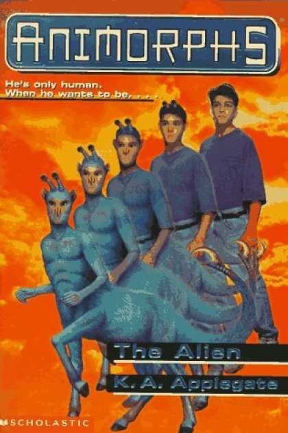 Bestselling Sci-Fi/ Fantasy (2006) - The Alien (Animorphs) (Animorphs) by K.A. Applegate