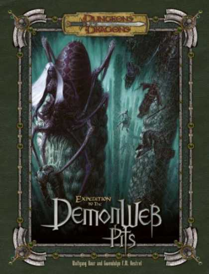 Bestselling Sci-Fi/ Fantasy (2006) - Expedition to the Demonweb Pits (Dungeons & Dragons Supplement) by Wolfgang Baur