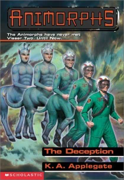 Bestselling Sci-Fi/ Fantasy (2006) - The Deception (Animorphs, 46) by Katherine Applegate