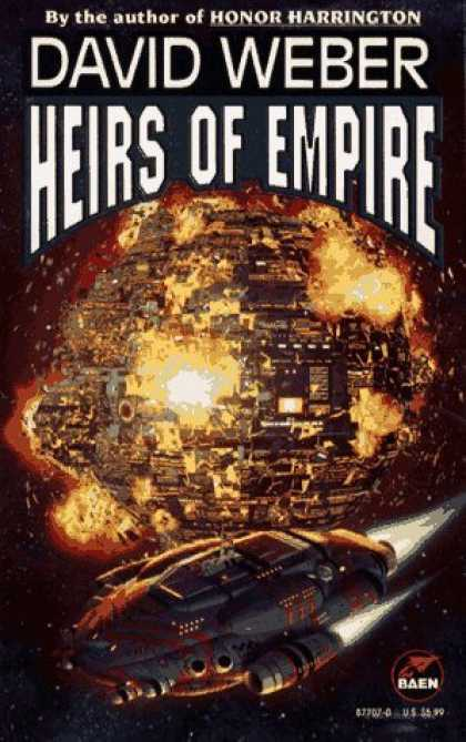 Bestselling Sci-Fi/ Fantasy (2006) - Heirs of Empire (Dahak Series) by David Weber