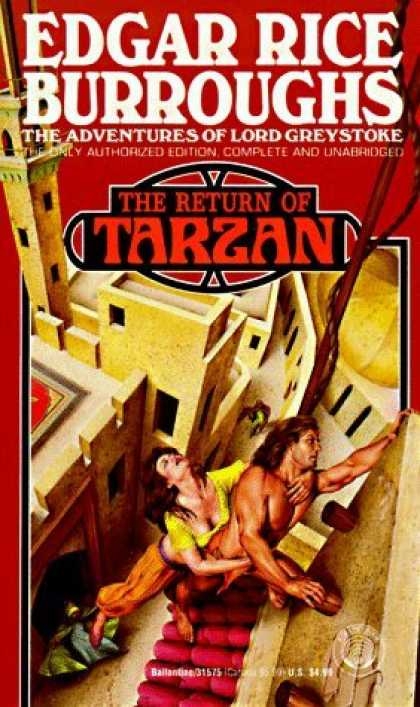 Bestselling Sci-Fi/ Fantasy (2006) - Return of Tarzan by Edgar Rice Burroughs
