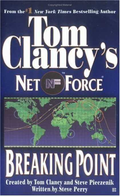 Bestselling Sci-Fi/ Fantasy (2006) - Breaking Point (Tom Clancy's Net Force, No. 4) by Tom Clancy