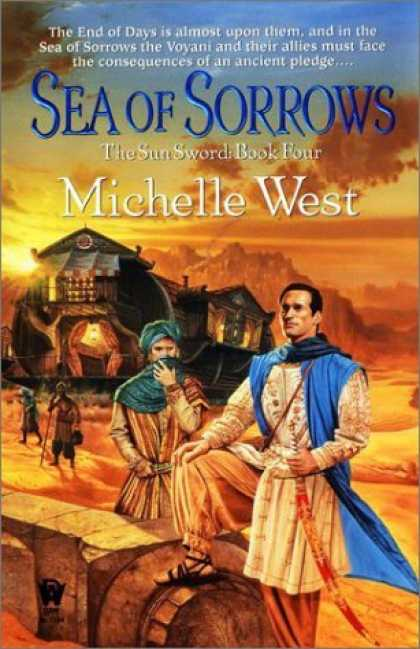 Bestselling Sci-Fi/ Fantasy (2006) - Sea of Sorrows (The Sun Sword, Book 4) by Michelle West