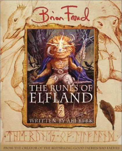 Bestselling Sci-Fi/ Fantasy (2006) - The Runes of Elfland by Brian Froud