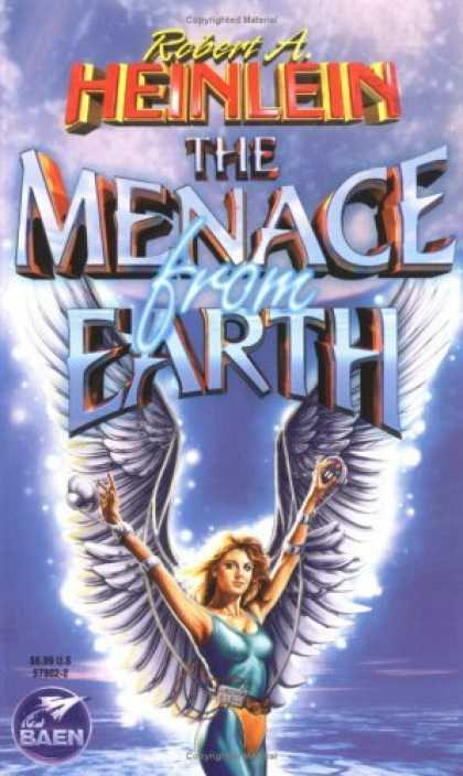 Bestselling Sci-Fi/ Fantasy (2006) - The Menace From Earth by Robert A. Heinlein