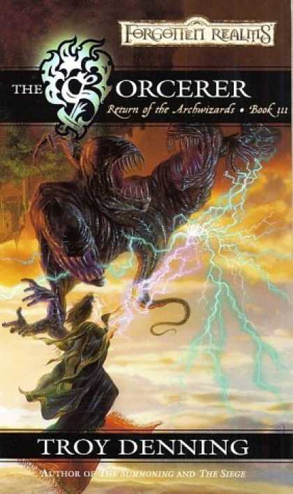 Bestselling Sci-Fi/ Fantasy (2006) - The Sorcerer (Forgotten Realms: Return of the Archwizards) by Troy Denning
