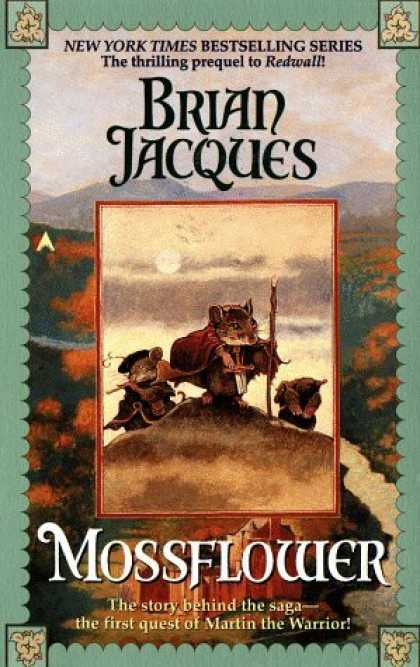 Bestselling Sci-Fi/ Fantasy (2006) - Mossflower (Redwall, Book 2) by Brian Jacques