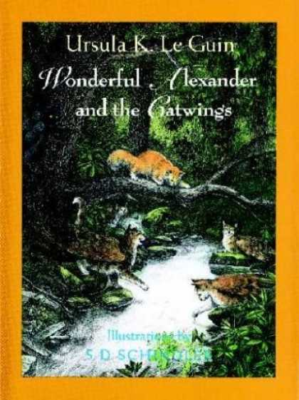 Bestselling Sci-Fi/ Fantasy (2006) - Wonderful Alexander and the Catwings by Ursula K. Le Guin