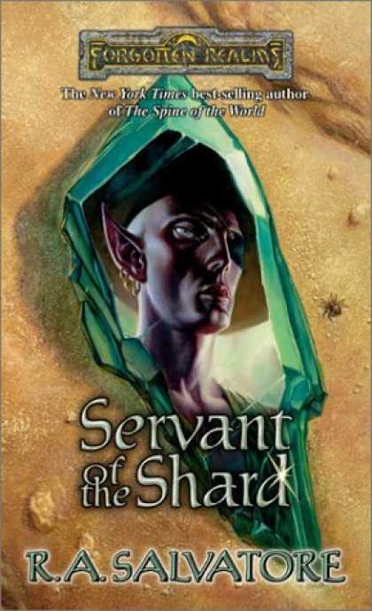 Bestselling Sci-Fi/ Fantasy (2006) - Servant of the Shard (Paths of Darkness) by R. A. Salvatore