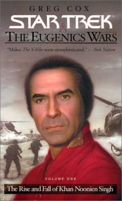 Bestselling Sci-Fi/ Fantasy (2006) - The Eugenics Wars Vol I: The Rise and Fall of Khan Noonien Singh (Star Trek) by