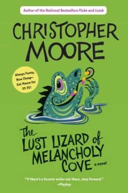 Bestselling Sci-Fi/ Fantasy (2006) - The Lust Lizard of Melancholy Cove by Christopher Moore