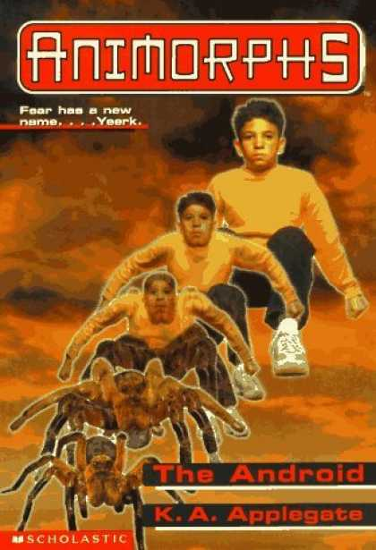 Bestselling Sci-Fi/ Fantasy (2006) - The Android (Animorphs, No. 10) (Animorphs) by K.A. Applegate