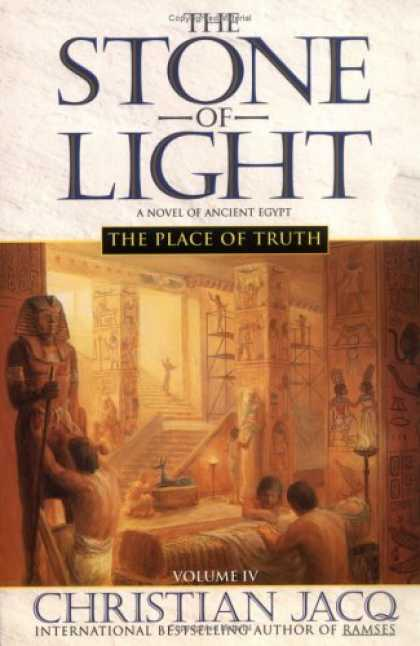 Bestselling Sci-Fi/ Fantasy (2006) - The Place of Truth (Stone of Light) by Christian Jacq