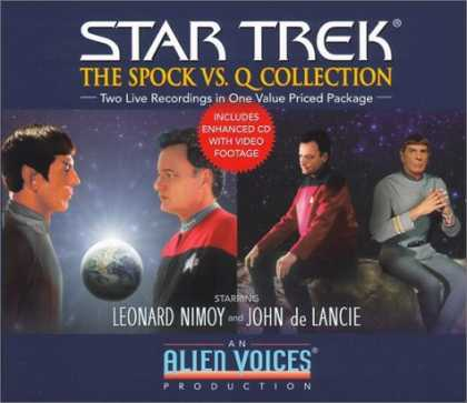 Bestselling Sci-Fi/ Fantasy (2006) - Star Trek: The Spock vs. Q Collection (Gift Set) by Alien voices