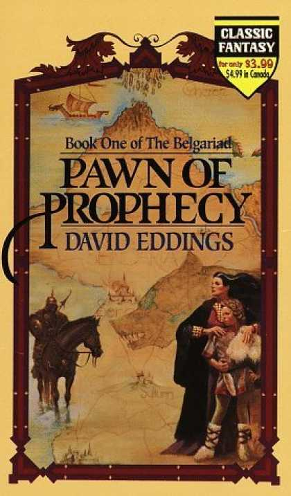 Bestselling Sci-Fi/ Fantasy (2006) - Pawn of Prophecy (The Belgariad, Book 1) by David Eddings